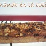 bizcocho de plátano nueces y pepitas de chocolate lse.wmv  Mi receta de cocina