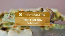 Tarta salada de brócoli