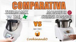 COMPARATIVA MONSIEUR CUISINE CONNECT LIDL Y THERMOMIX TM5