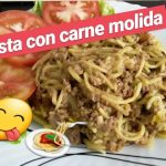 COMO HACER PASTA O ESPAGUETI CON CARNE MOLIDA, RECETAS DE COCINA FACIL Y RAPIDO. cocina para todos