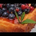 Receta de tarta de queso con frutas rojas de Eva Arguiñano  Mi receta de cocina