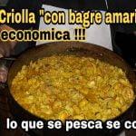 Paella con bagre amarillo - receta