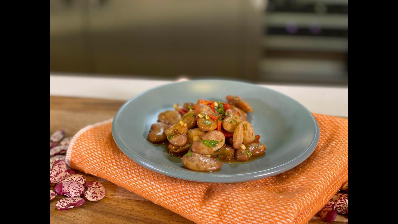 Frijoles a la vinagreta  - Recetas Veganas