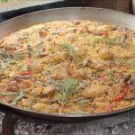 Paella valenciana (de Cullera)