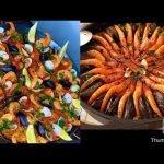 بايلا بفواكه البحر seafood 🦞 paella 🥘