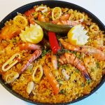 Very delicious Paella 😋👌وصفة البايلا ولا اروع