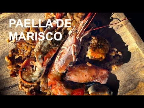 PAELLA DE MARISCOS toque calamarcitos CASA ARTUROS (ArturG)