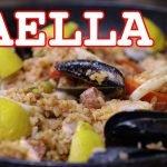 Paella al estilo filipino