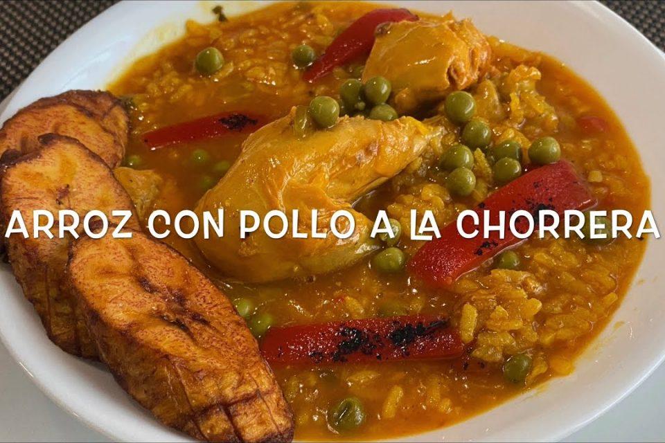 Arroz Con Pollo A La Chorrera Estilo Cubano | Cuban Yellow Rice And Chicken Stew