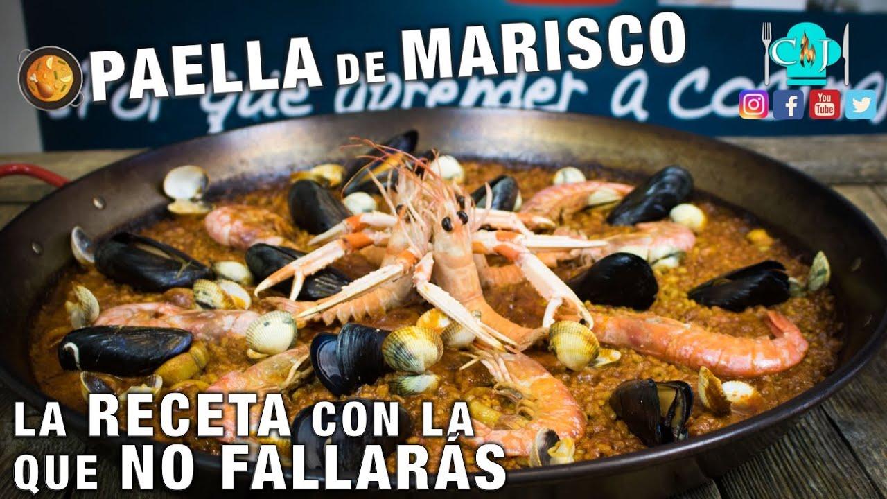 Paella de Marisco - Recetas de Cocina