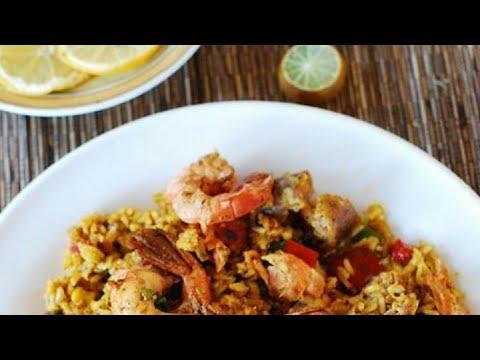 Paella española receta de paella recuperada