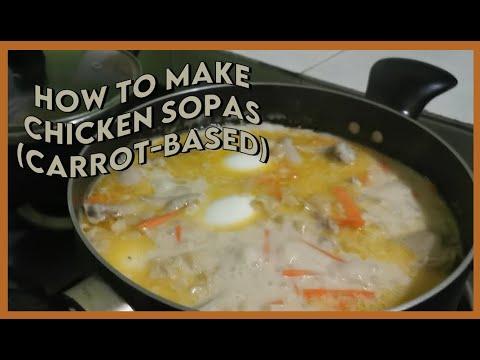 Sopas Recipe (carrot-based)