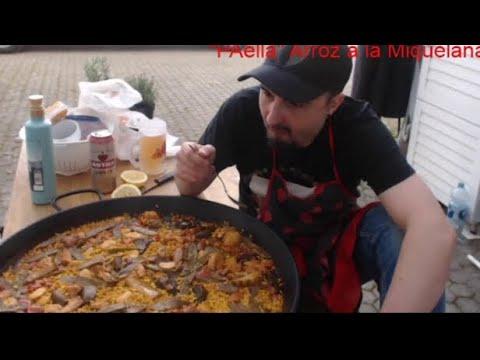 """Paella"" a la Miquelana( arroz a la miquelana)"