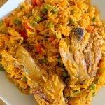 Arroz con Pollo Recipe - Haitian Style - Duri Kolé ak Poul