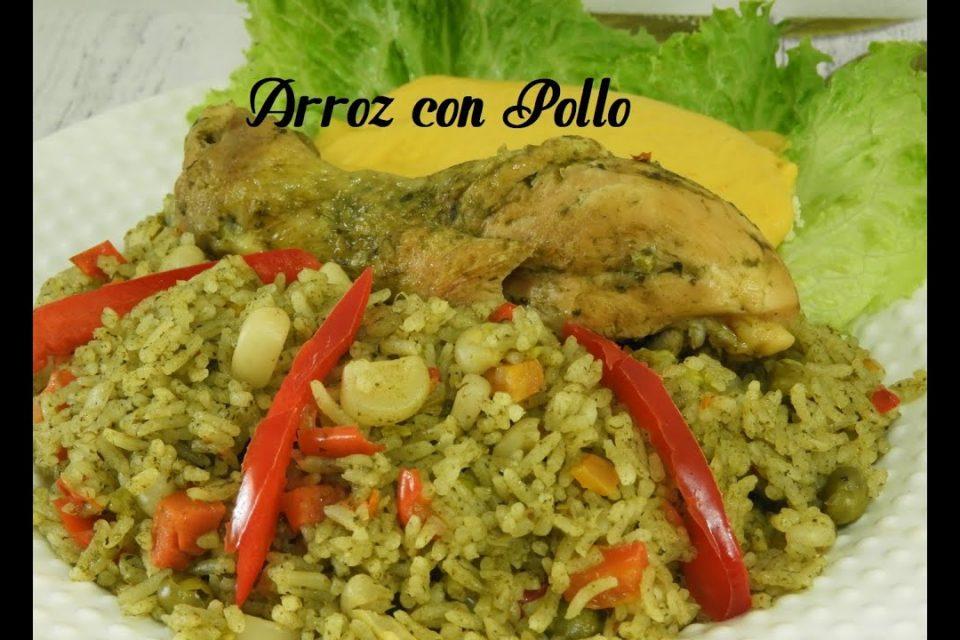 ARROZ CON POLLO / RECETA PERUANA