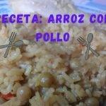 Arroz con Pollo, Receta Facil y Rico /Cocina Con Mai