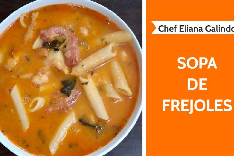 Sopa de frejoles | ESPECIAL 7 SOPAS