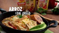 Aprende a preparar un delicioso arroz con pollo