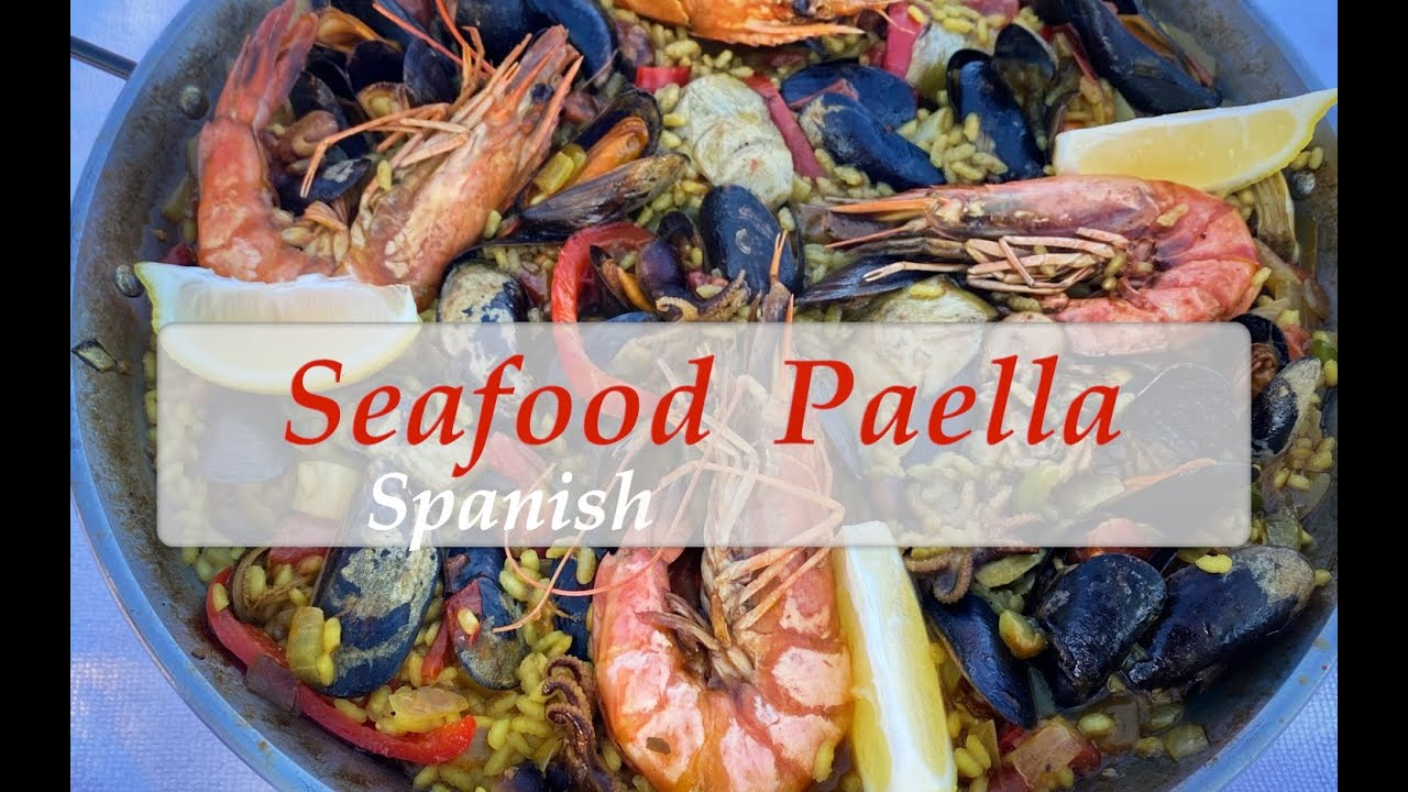 Spanish Seafood Paella @home