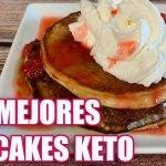 Recetas Keto Pancakes KETO, Desayuno KETO para bajar de peso!