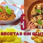5 RECETAS #SinGluten #SinTACC PARA CELÍACOS Mi receta de cocina