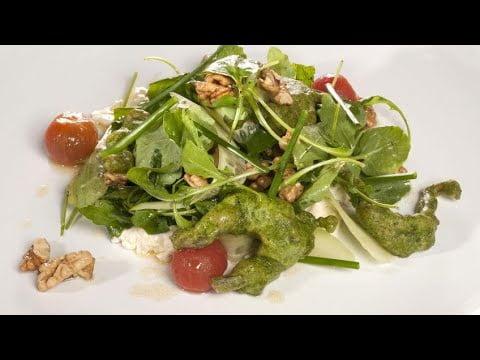 Receta de Ancas de rana capeadas en verde - Cocina con Bruno Oteiza