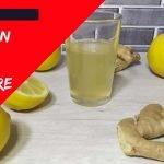 ✅ Cómo preparar infusión de JENGIBRE, LIMÓN - Receta de infusión de jengibre y limón ✳️