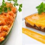 Calabacín relleno de ajoarriero - Tarta de ciruelas pasas - Cocina Abierta de Karlos Arguiñano