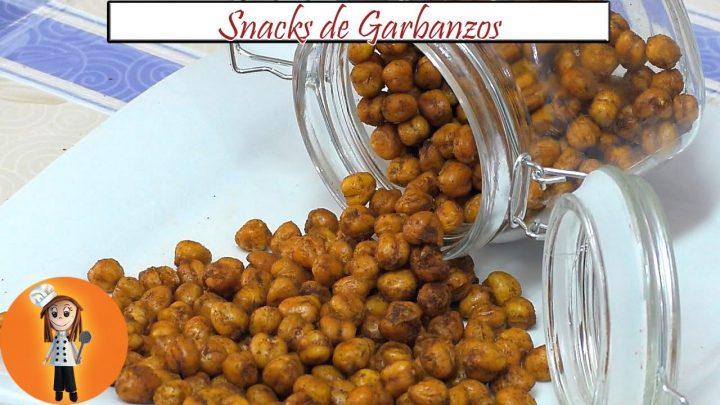 Snacks de Garbanzos | Receta de Cocina en Familia