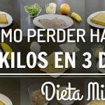 DIETA MILITAR | MILITARY DIET PLAN | Kiwilimón