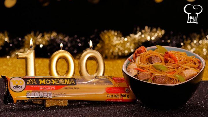 La mejor receta de Spaghetti Lo Mein | Cocina Delirante