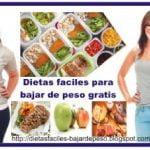 ► Dietas faciles para bajar de peso gratis | Dietas para adelgazar faciles