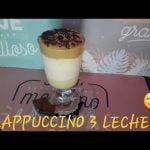 FRAPPUCCINO 3 LECHES - Para los amantes del café a toda hora.  Mi receta de cocina