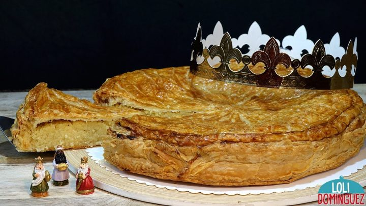 GALETTE DES ROIS. (TARTA DE REYES) RECETA FÁCIL. Loli Domínguez. Enlaces a mis 4 Roscones de Reyes.