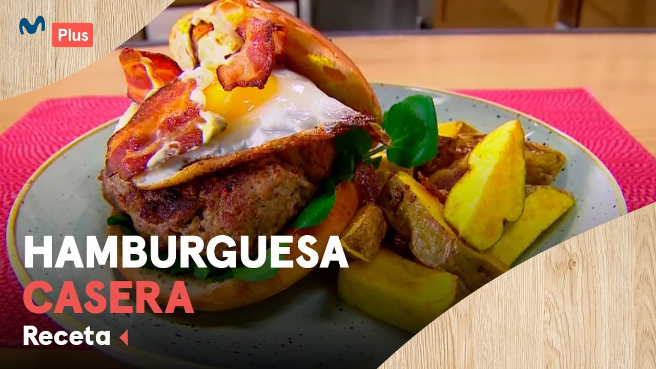Receta: Hamburguesa casera | Cocina en un Toque