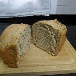 Pan de pipas y leche sin lactosa, en panificadora  Mi receta de cocina