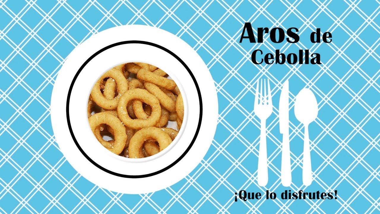 RECETA DE AROS DE CEBOLLA (Recetas de Cocina)