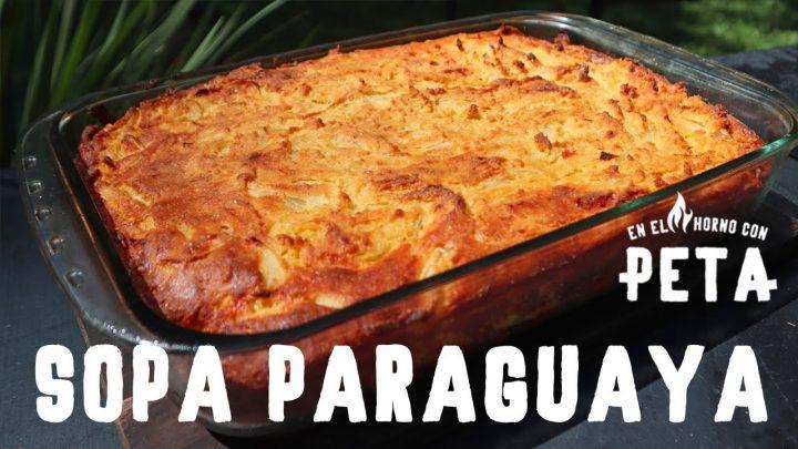 Sopa Paraguaya - La mejor receta que vas a encontrar - Comida tipica de Paraguay